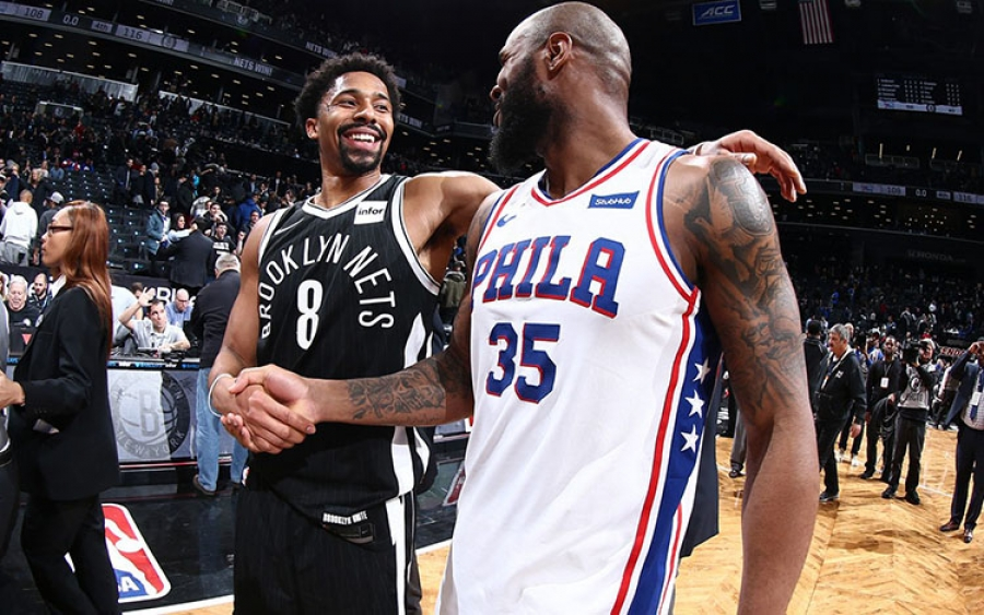 Photo of the Week: Spencer Dinwiddie and Trevor Booker
