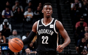 Caris LeVert scores a career-high 29 points in a 119-111 loss against the Houston Rockets