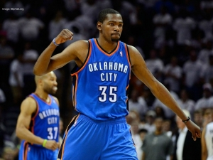Oklahoma Thunder City small forward, Kevin Durant will be a free agent in 2016