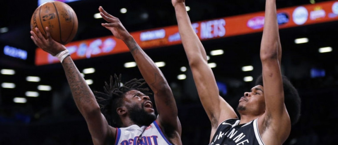 Brooklyn Nets lose to Detroit Pistons 108-96 at Barclays Center