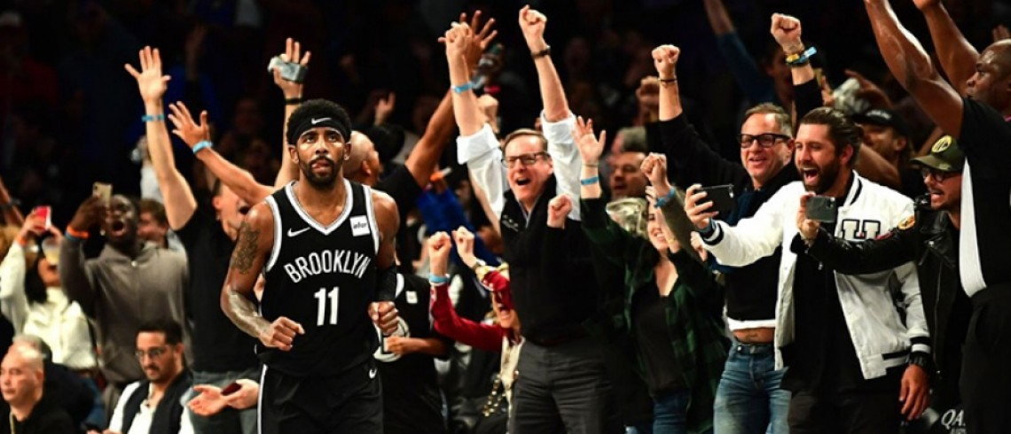 Kyrie Irving and Spencer Dinwiddie Lead Nets to a 113-109 Victory Over the Knicks | NEWS