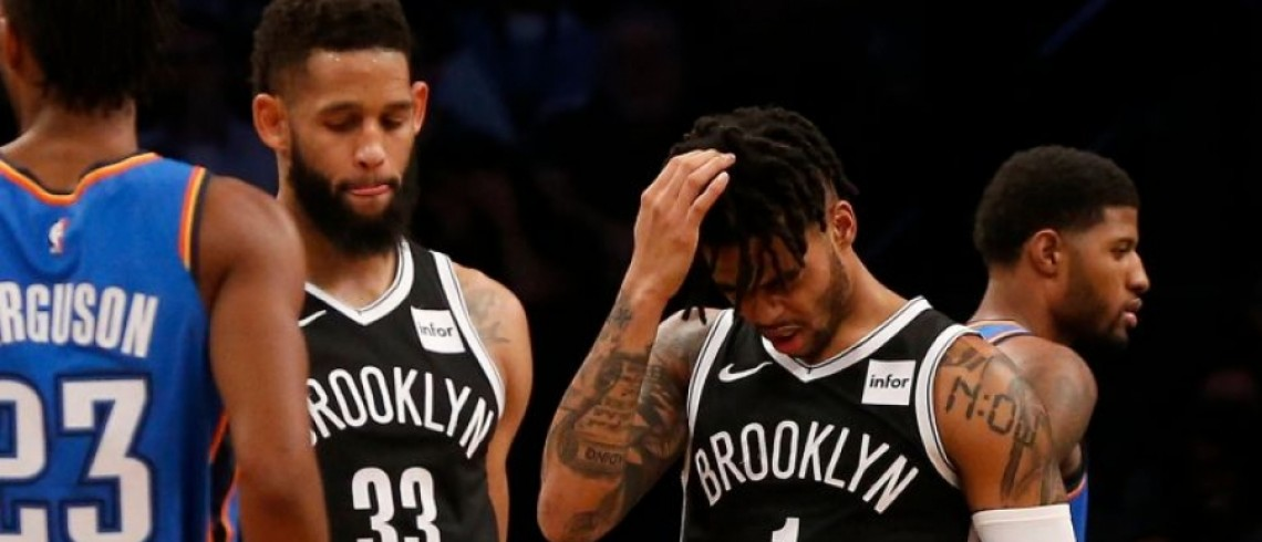 Brooklyn Nets Blow a 23-Point Lead and Lose to OKC Thunder 114-112