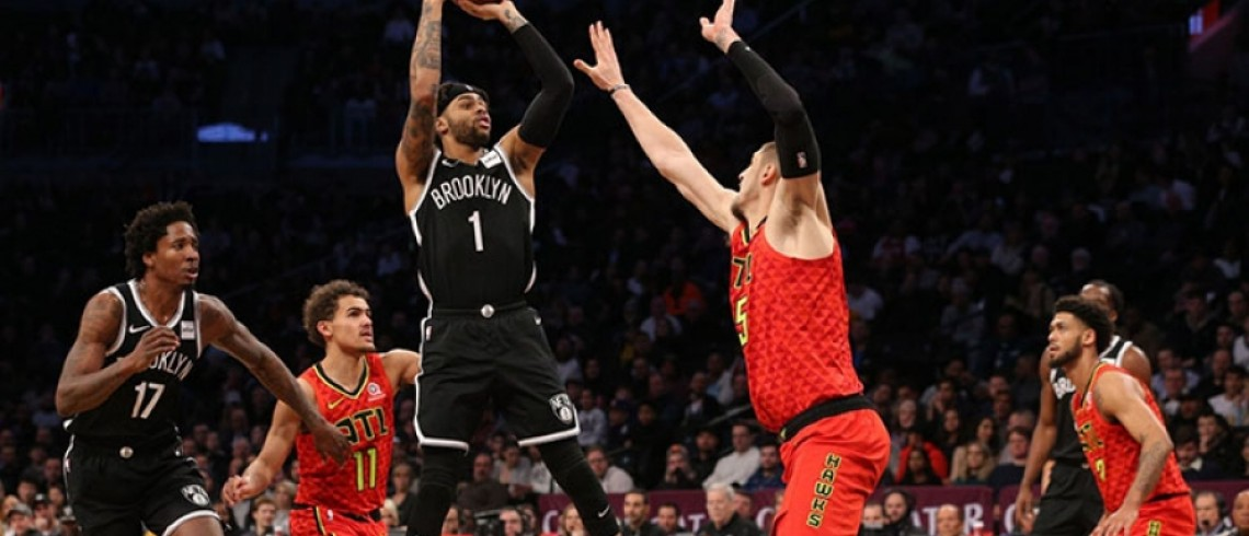 Nets Down 20 Points Bounce Back to Defeat the Atlanta Hawks 116-100
